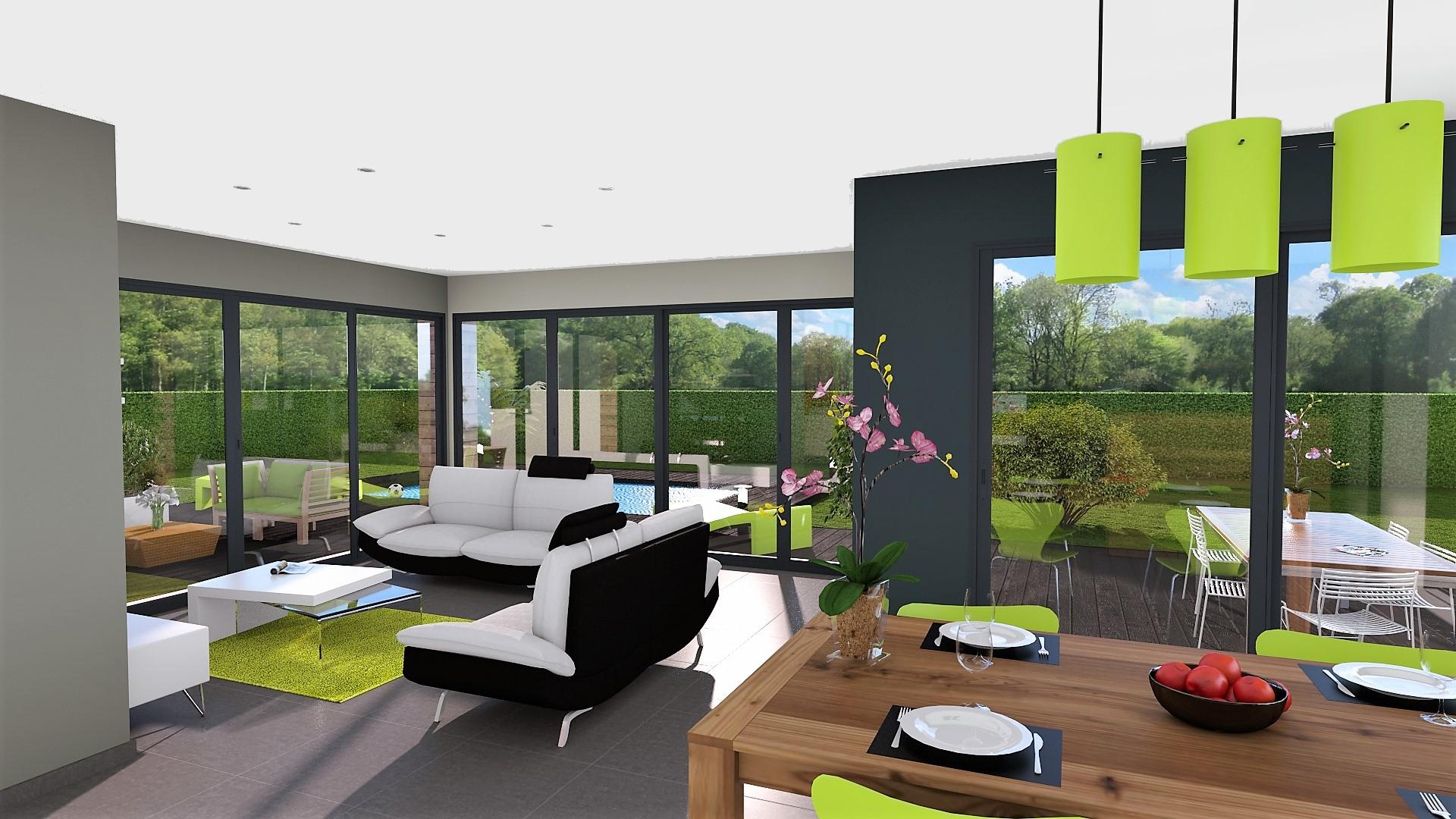 Maison Toit plat / Toiture terrasse - M4