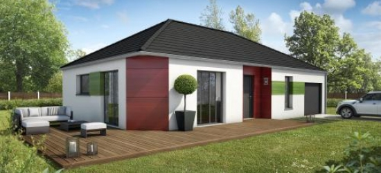 maisons contemporaines compagnons constructeurs. Black Bedroom Furniture Sets. Home Design Ideas